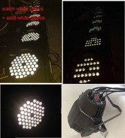 4pcs/lot 54 X3W led par light white/Cold White color Par LED stage lighting Disco DJ Party Bar KTV Show Lighting Projector