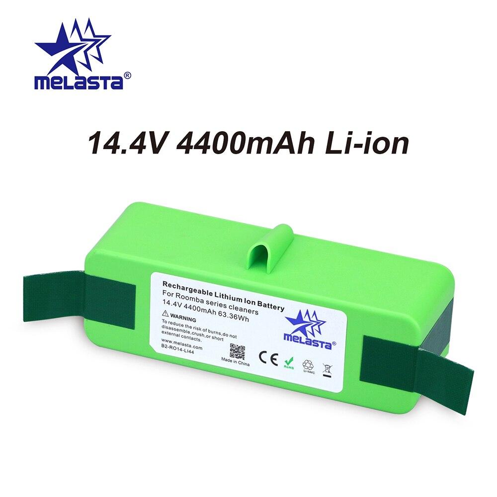 4.4Ah 14,4 V li-ion Батарея с бренда клетки для iRobot Roomba 500 600 700 800 Series 510 530 550 560 650 770 780 790 870 880 R3