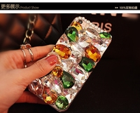 Luxury Bling Special-shaped Rhinestone Heart Phone Case for iphone 7 6s plus case for samusng note 5/4 case