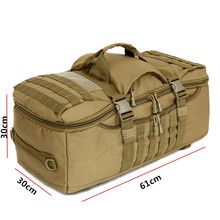 75L Nylon 900D Large Multi-purpose Outdoor Sports Tactical Backpack Camping Hiking Climbing Rucksack mountaineering Bag