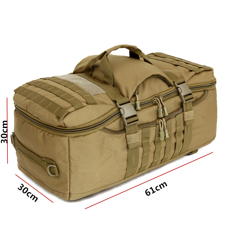 75L Nylon 900D grand multi-usages Sports de plein air tactique sac à dos Camping randonnée escalade sac à dos alpinisme sac de sport