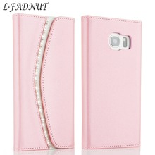 Luxury Wallet Leather Case For Samsung S10 S9 S8 Plus Women