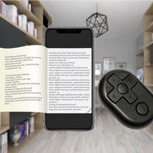 Беспроводной пульт дистанционного управления затвором для Bluetooth портативная электронная книга с батарейками управление видеоиграми