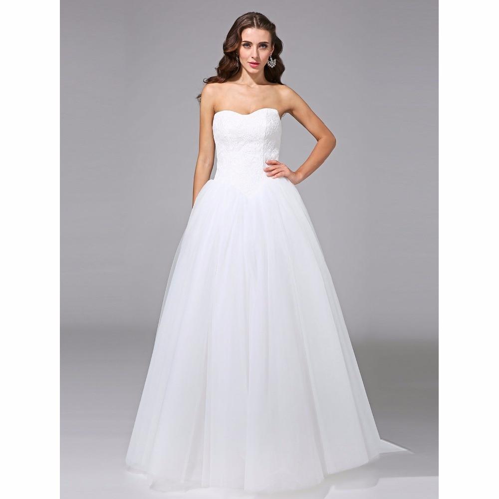 Aliexpress.com : Buy LAN TING BRIDE Ball Gown Wedding