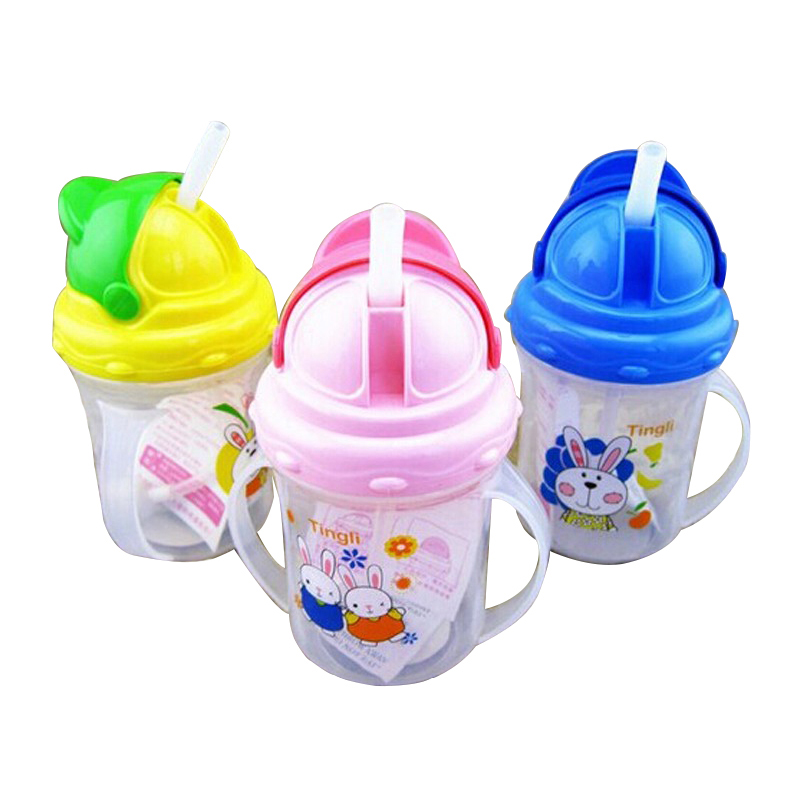 Hot sale baby bottles kids straw cup drinking bottle sippy - Cups and kids ...