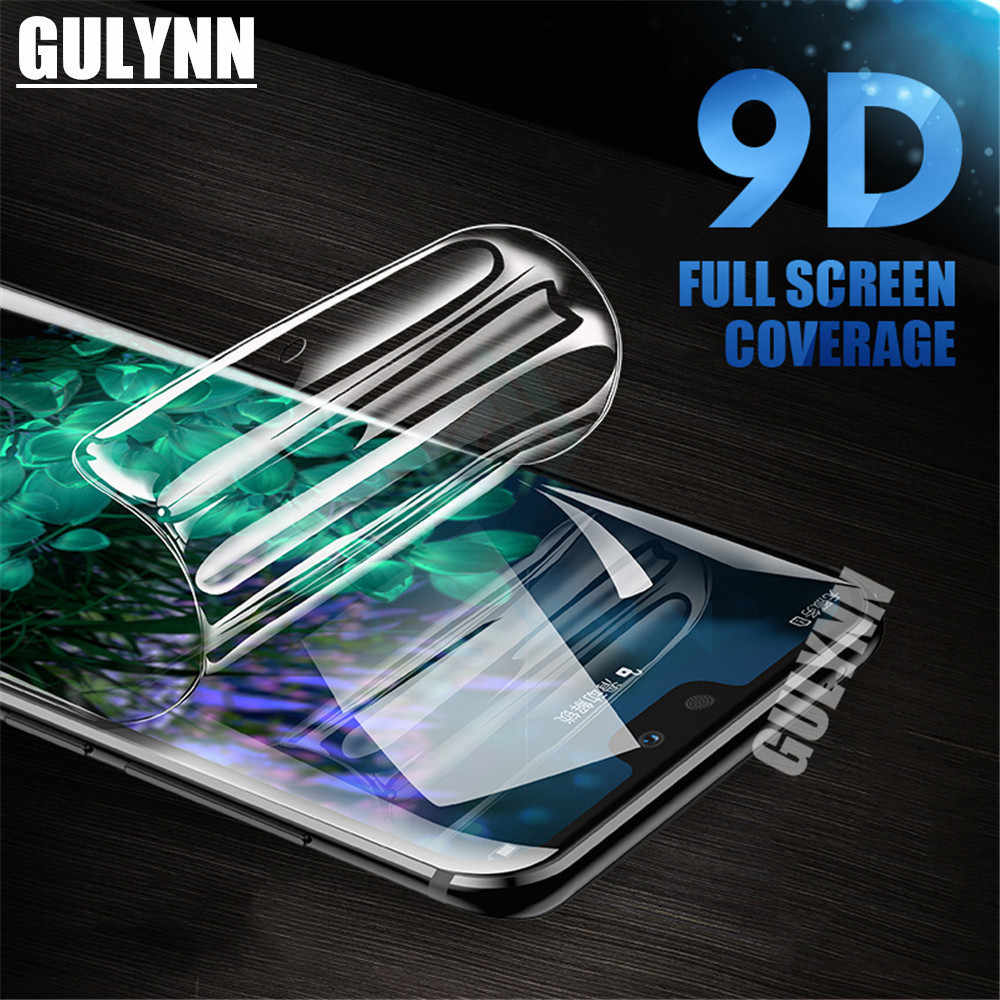 Full Cover Anti-Blue Light Hydrogel Film For Huawei Mate 20 P20 30 Lite Pro Honor 20 8X 10 i Screen Protector Film Not Glass
