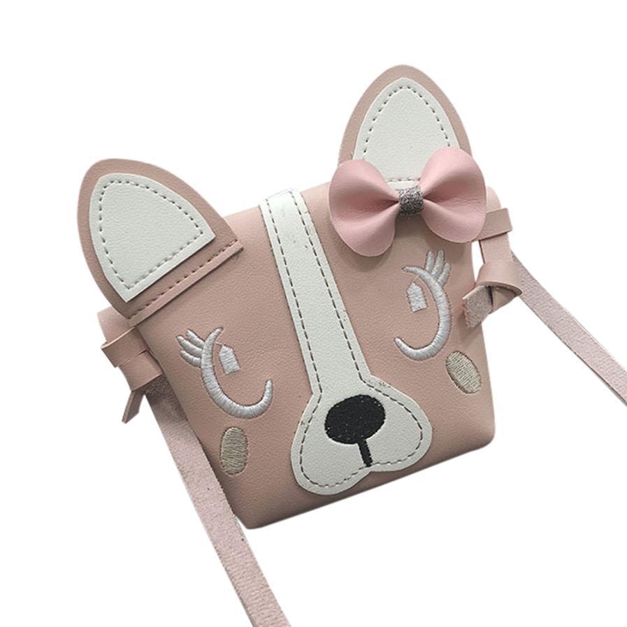 Kinder- & Babytaschen Ehrlichkeit Umhängetaschen Für Mädchen Schulter Tasche Kinder Nette Tier Bowknotl Leder Handtasche Schulter Tasche Mini Umhängetasche O0726 #23 Crossbody-taschen
