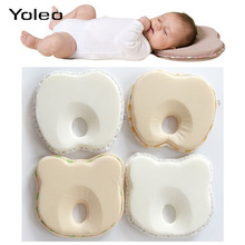 Newborn Infant Baby Anti Roll Pillow Flat Head Neck Prevent Infant Support Baby Toddler Sleep Protection Pillow Gifts