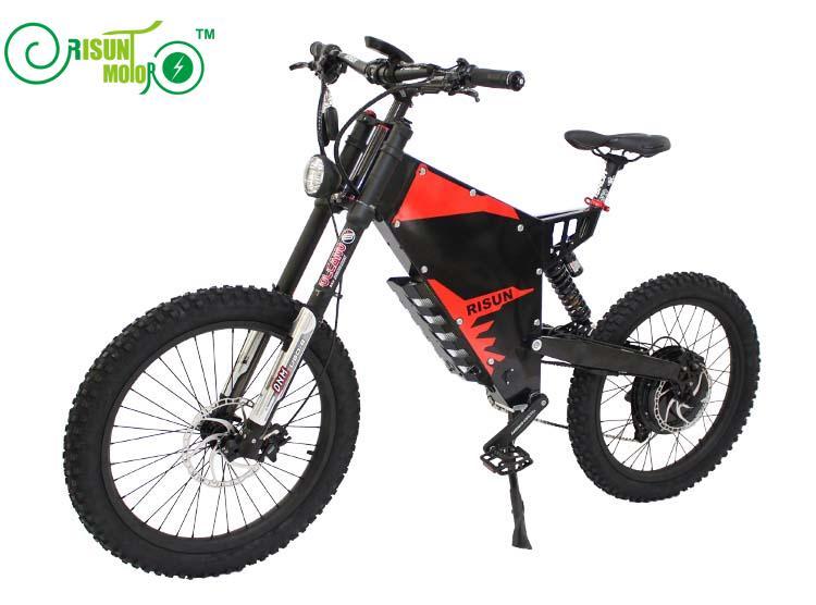 Xiaolong fighter / stealth bomber electric mountain bike frame / all terrain / soft tail / shock absorber electric bicycle frame - 5
