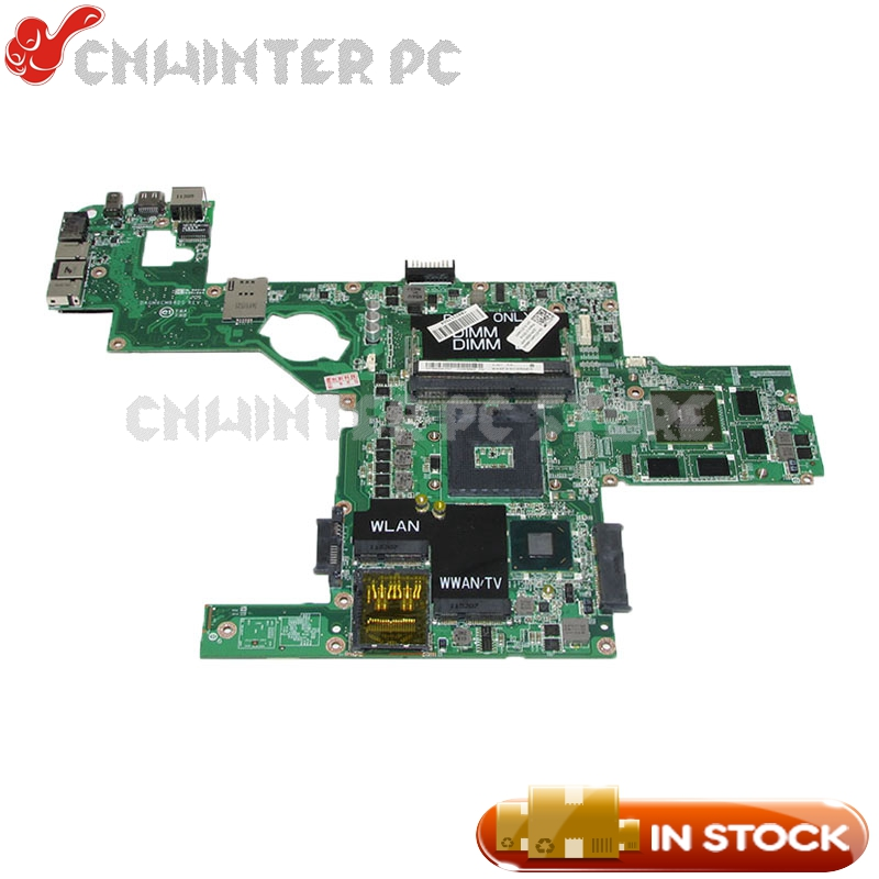 NOKOTION DAGM6CMB8D0 CN-0714WC 0714WC MAIN BOARD For Dell XPS 15 L502X Laptop Motherboard HM67 DDR3 GT540M 2GB