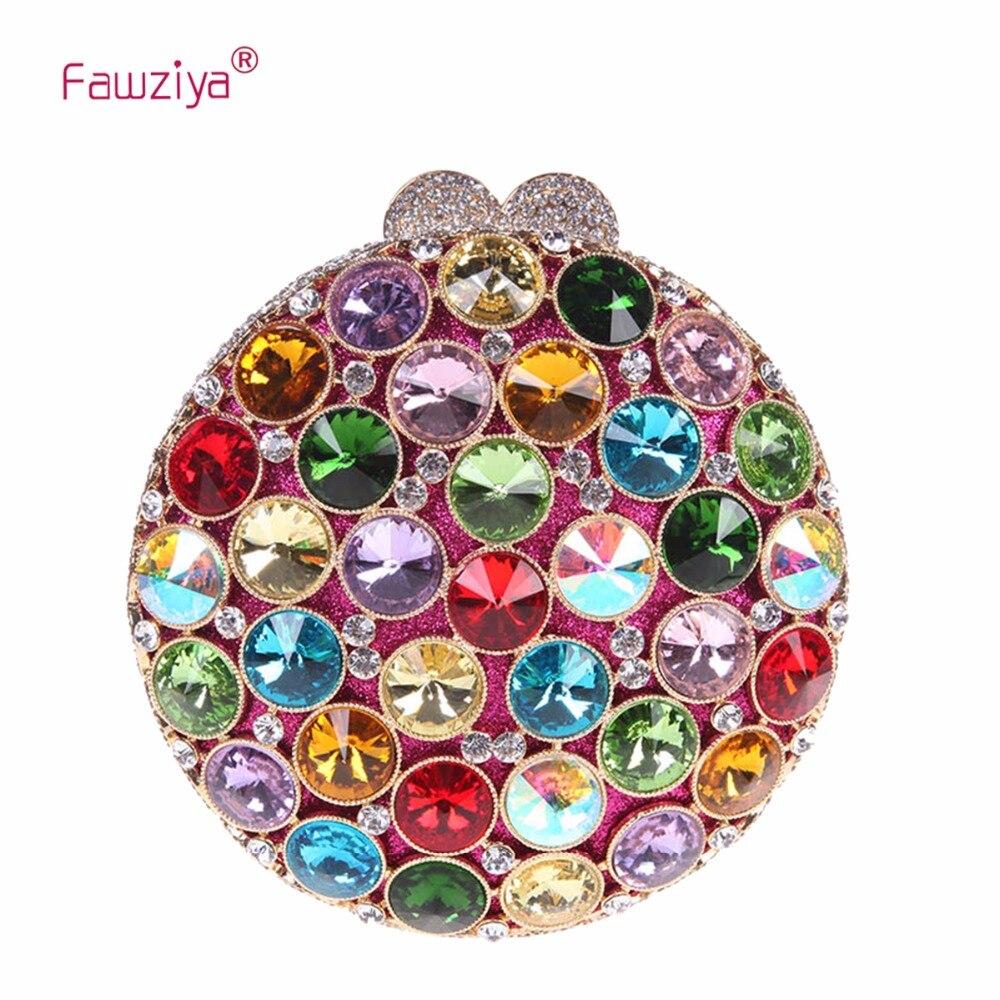 Fawziya Round 15cm Bag In A Bags For Womens Purses And Handbags