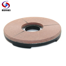 RIJILEI 10inch Diamond Resin Grinding Disc For Granite Slab 250mm bond polishing pad for Marble Polishing YG23-4