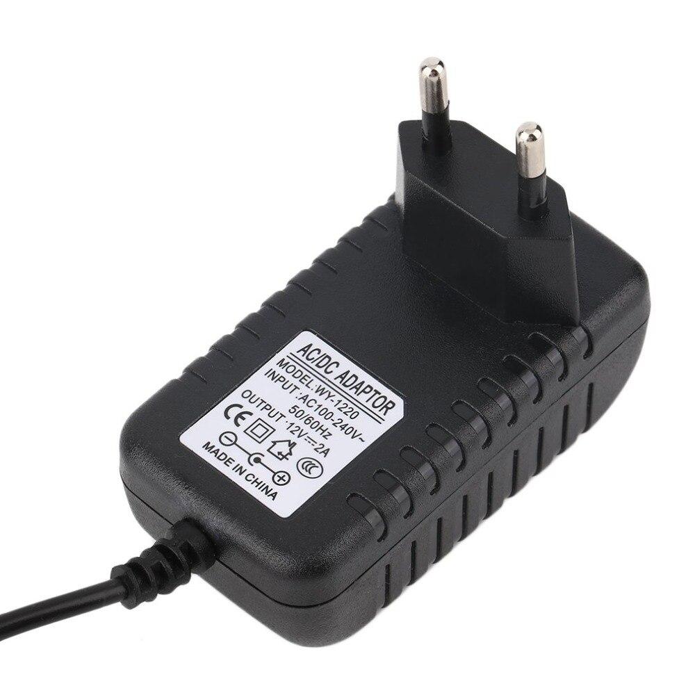 DC 12V 2A AC адаптер питания трансформатор для 3D ручки EU зарядное устройство для камеры планшета адаптер питания Прямая поставка