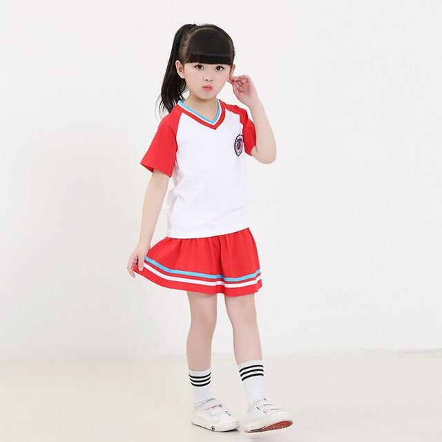 Для девочек и школьная форма для мальчиков летнее платье Британский ветер парк детский сад костюм
