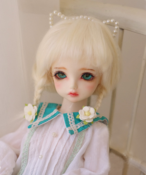 BJD lalka futro peruka beżowy długie peruki z prostymi włosami dla 1/3 1/4 1/6 1/8 1/12 BJD DD SD MDD MSD YOSD lalki futro peruki