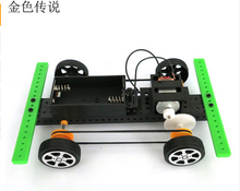 F17921 DIY 4×4 Raider buggies No.2 Small Production technology Model Science Assembling Toys Model 15*10*4cm