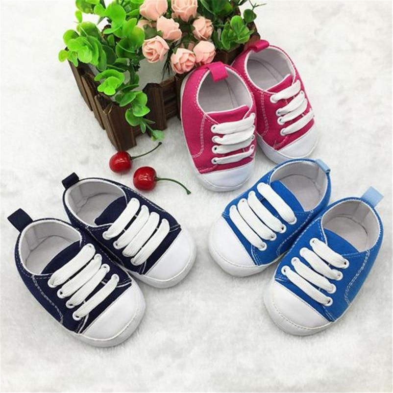 Solide Leinwand Krippe Schuhe Süße Bequeme Schuhe Für Baby Nette Schuhe Mini Baby Schuhe Zapatillas Deportivas Bebe 30st26 Nachfrage üBer Dem Angebot