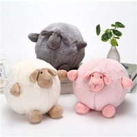 Plush Cartoon Sheep Toy New Style Sheep Dolls Decoration Christmas Birthday Gifts For Friends Kids Girls