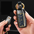 Multi-funcional cigarro eletrônico mais leve chaveiro relógio pendurado parte relógio com luz cigarro usb carregamento mais leve briquet