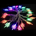 4 meter North star led string light RGB colorful Xmas decoration light outdoor Fairy Christmas Garden Wedding Party