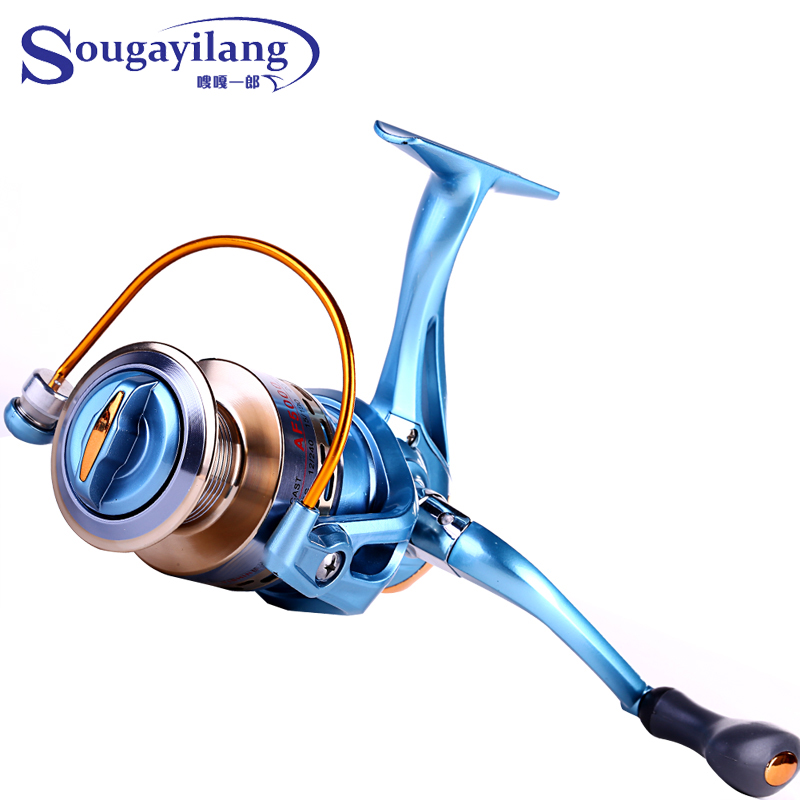 Online buy wholesale molinete abu garcia from china for Sougayilang spinning fishing reels