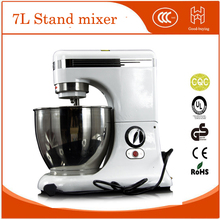 7L Commercial baking store Lower noise strong mixing dough egg food mixer stand mixer