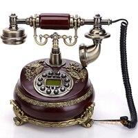 Новый Античный Телефон стационарный бытовой Роскошные Европейский стиль древнего дворец цветы украшения дома арт