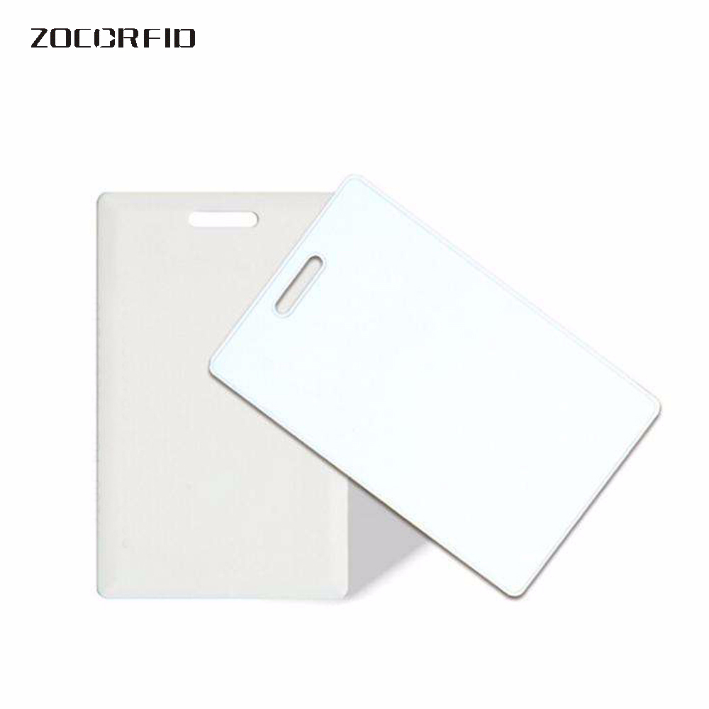 50pcs 125KHz T5577 Thick Card Access Control System card RFID Card rewritable