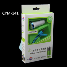 CYM-141 Quick Charge Care Four Car Charger 2.0 3.0 Mobile Phone Car-charger adapter For Cellphone