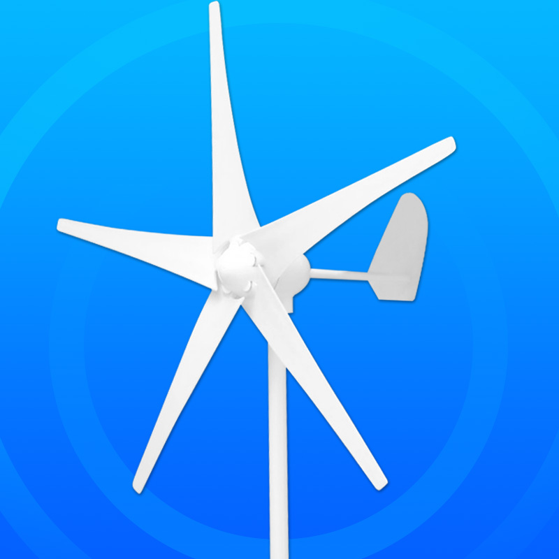12v 24v 48v DC Home use Wind Generator 500W 3 Blades or 5 Blades with permanent magnet rotor and tools for sale