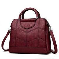 Сумка кожаная Роскошные Сумки Для женщин сумки дизайнер Сумки высокое качество Crossbody сумки для Для женщин 2019 Sac основной дамская сумочка