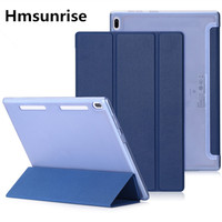 Hmsunrisse Cover For Lenovo TAB4 10 PU Case For Lenovo TAB4 10 TB X304L TB X304F