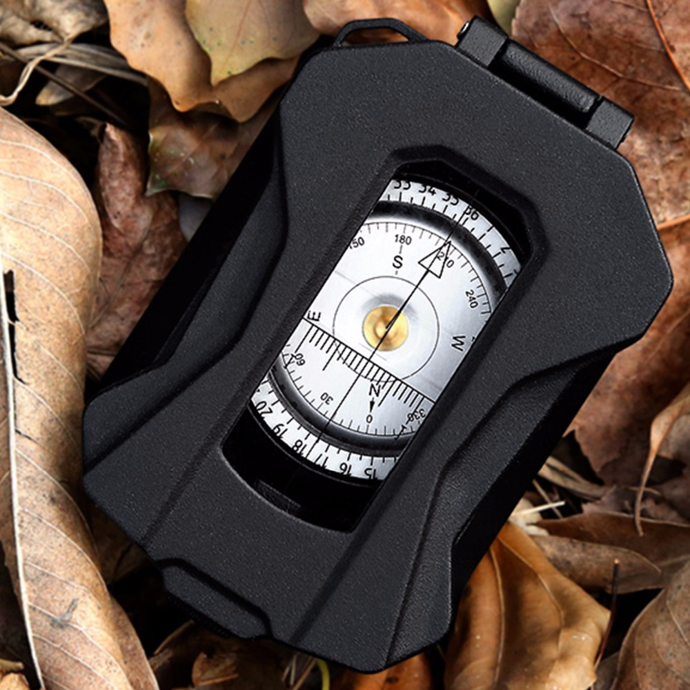 [NEW] Eyeskey Professional Liga de Alumínio Multifuncional Bússola Bússola Sobrevivência À Prova D' Água, Grau Militar