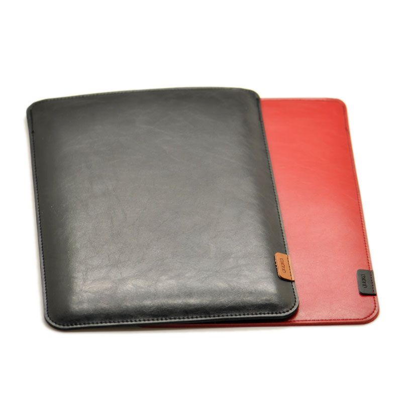 Arrival selling ultra-thin super slim sleeve pouch cover,microfiber leather laptop sleev ...