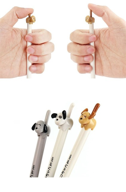Dog Shaped Gel Pens
