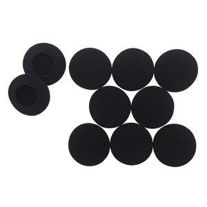 Image 4 - Imttstr Soft Foam Spons Oor Tip Cover Vervanging Oordopjes Covers Voor Sony DR BT101 Oortelefoon Mouw