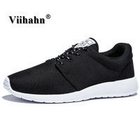Running Shoes For Men 2017 Breathable Spring And Summer Sneakers Mens Black Light Trainer Sport Shoes Plus Size 40-46