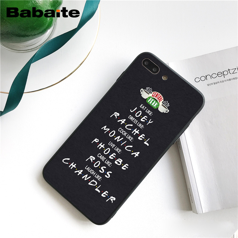 Babaite Central Perk Coffee friends tv show how you doin Phone Case for iphone 11 Pro 11Pro Max 8 7 6 6S Plus X XS MAX 5S SE XR in Half wrapped Cases from Cellphones Telecommunications