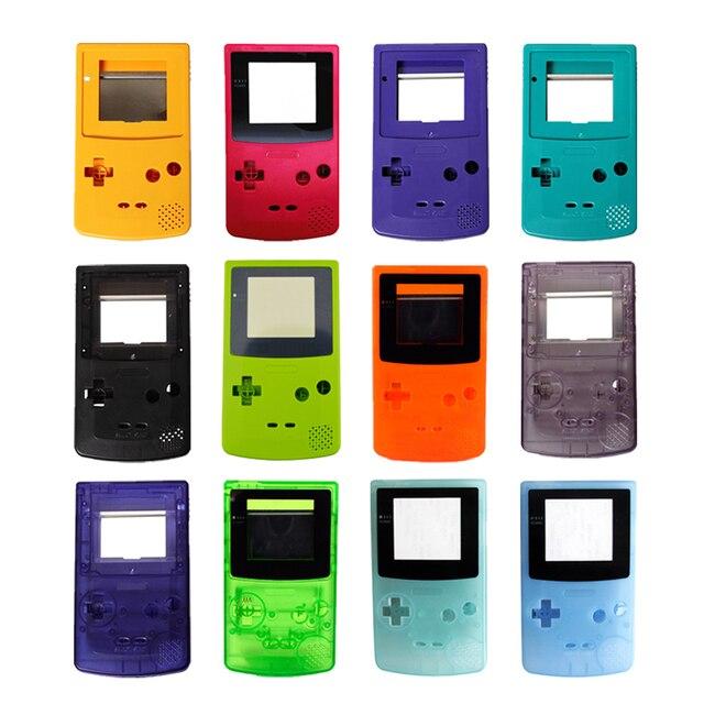 100 Bộ Rất Nhiều Chất Lượng Cao 13 Màu Nhà Ở Vỏ Linh Kiện Thay Thế Dành Cho G B C Ốp Lưng Dành Cho Gameboy Color vỏ