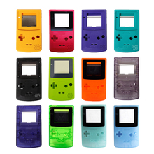 100 sets a lot High quality 13 Colors Housing Shell replacement Parts Cover for G B C Case Pack for Gameboy Color Shell