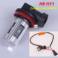 2 x Sem Erro Canbus H11 H8 CREE Chips LED Fog luz DRL Lâmpada PARA BMW X5 X6 E70 E71 E83 F25 X3
