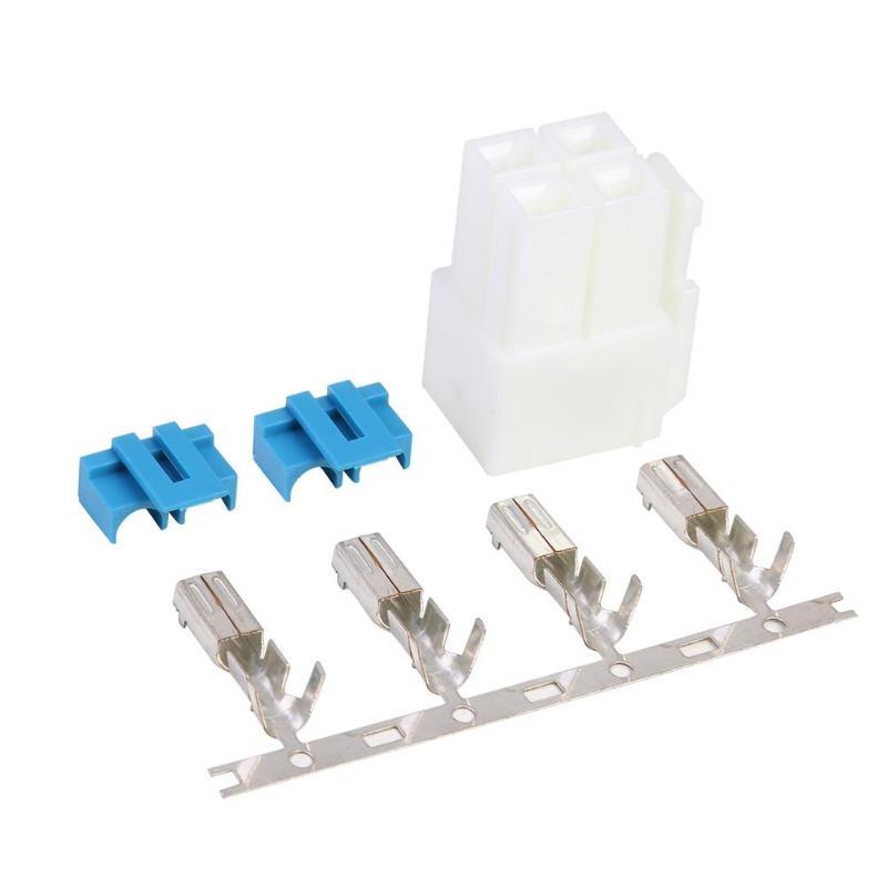 4-Pin Power Connector Plug For Icom IC-7000 IC-7100 IC-7400 IC-7600 Radio DIY Power Adapter Plug