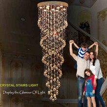 VALLKIN Salón LED Lámpara de Techo de Luz Lámparas de Iluminación de Cristal accesorios para mesa de Comedor Sala de estar con AC100 a 240 CE UL