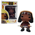 The Walking Dead Michonne 38 Funko POP Vinyl Action Figure Model Television PVC Collection Gift  Kids Toys Great quality