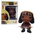 The walking dead michonne 38 funko pop vinilo pvc colección figura de modelo de acción de televisión los niños juguetes de regalo de gran calidad