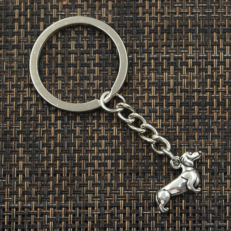 Mode 30mm nyckelring metall nyckelring nyckelring smycken antik - Märkessmycken - Foto 3
