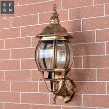 Светодиодный наружный светильник, настенный светильник, наружный светильник, светодиодный Балконный светильник, алюминиевая лампа E27