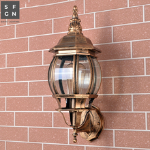 led outdoor lighting wall light outside light with led balcony light Aluminum E27 lamp цена