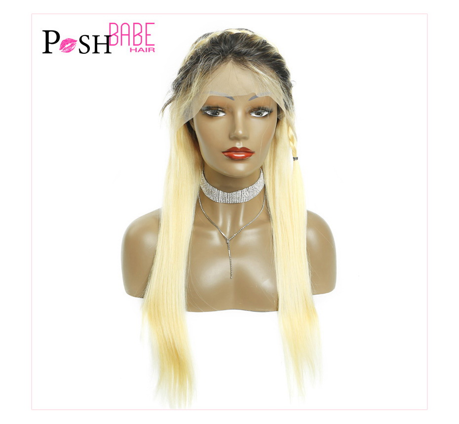Blonde Lace Front Human Hair Wig (18)