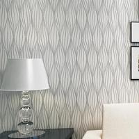 High Quality Mural Modern Striped Wallpaper For Wall Papel De Parede Tapete Of Bedroom Living Room